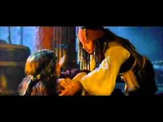 Jack Sparrow and Angelica Dancing Los piratas del Caribe 4
