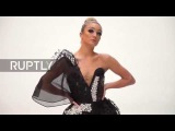 UK: High-tech dress made from graphene unveiled in Manchester