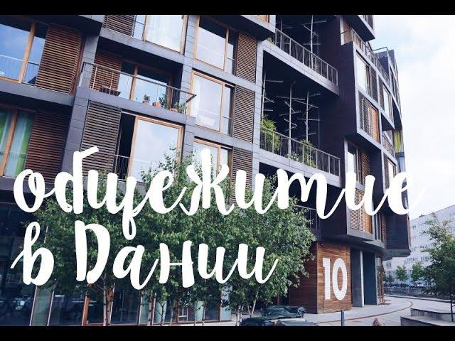 ТУР ПО САМОМУ КРУТОМУ общежитию в Дании Ellina Daily