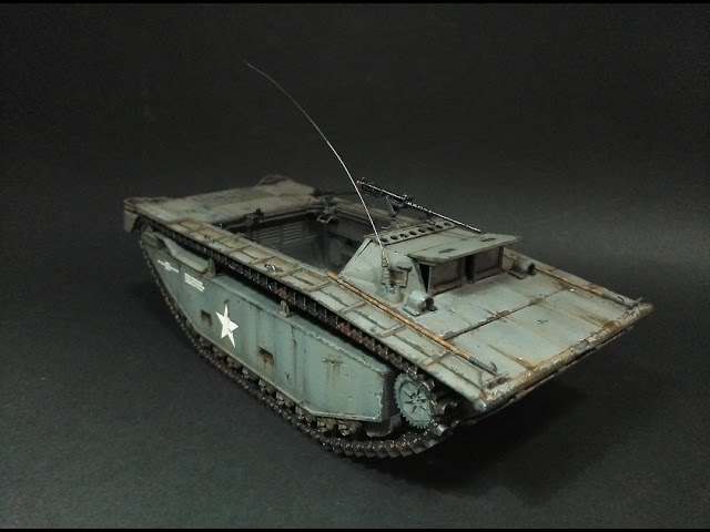 LTV-2 Amtrac 1/35 scale model