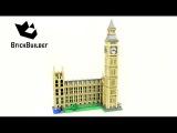 Lego Creator 10253 Big Ben - Lego Speed Build