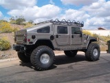 Hummer H1 offroad and exhaust sound