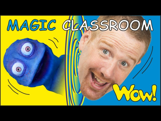 Magic Classroom Objects for Kids | Stories from Steve and Maggie with Bobby | NEW on Wow English TV