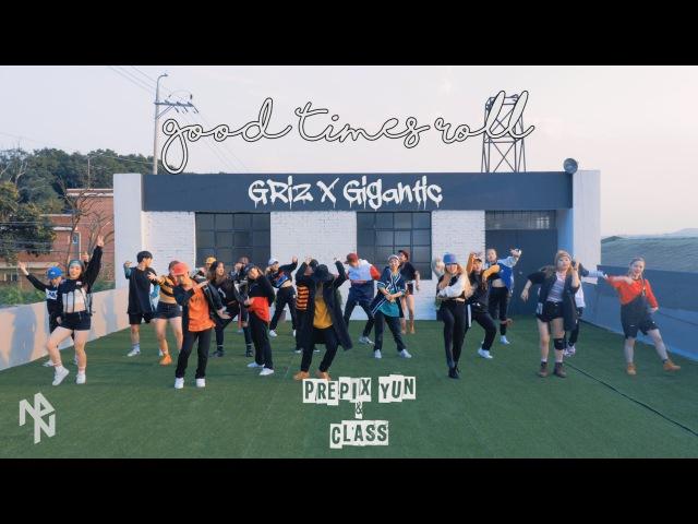 [4K] GRiZ x Big Gigantic - Good Times Roll | Prepix YUN | New Playlist 뉴플