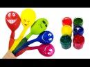 Семья пальчиков на русском и шарики Учим цвета Песенка про пальчики Finger Family Rhymes. Игрушки 1