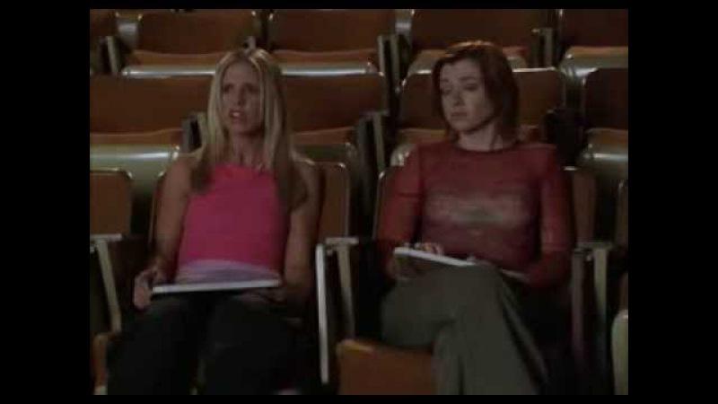Buffy The Vampire Slayer - Hush - Giles presentation