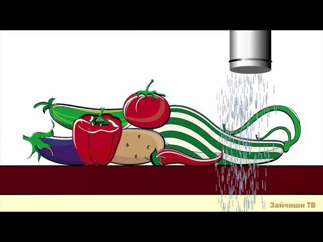 Как растут растения. От цветов до плодов. Обучающий мультфильм для детей