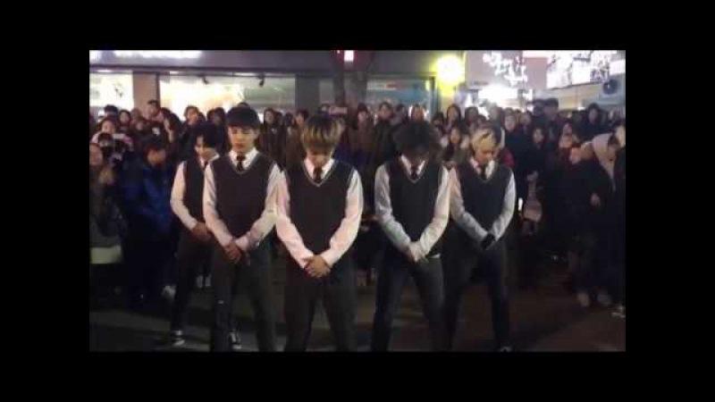 빅뱅 Bigbang BANG BANG BANG Good Boy Dance cover Busking in Hongdae