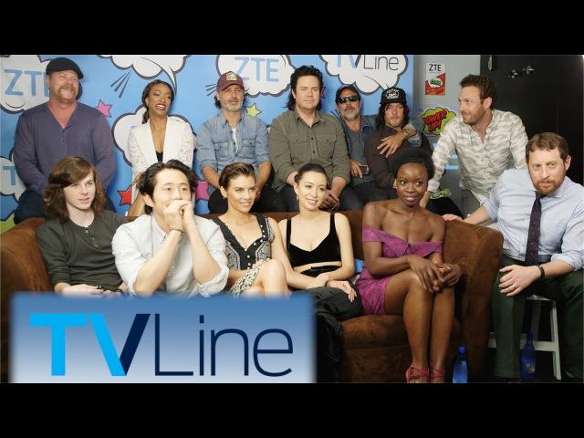 The Walking Dead Interview   TVLine Studio Presented by ZTE   Comic-Con 2016