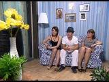 Роберт Гаспарян с Андреем Алексиным в телешоу