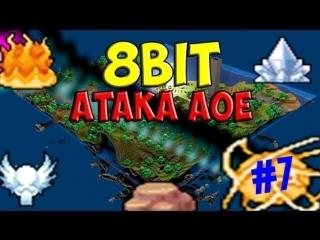 Minecraft - [8bit] - Атака AOE