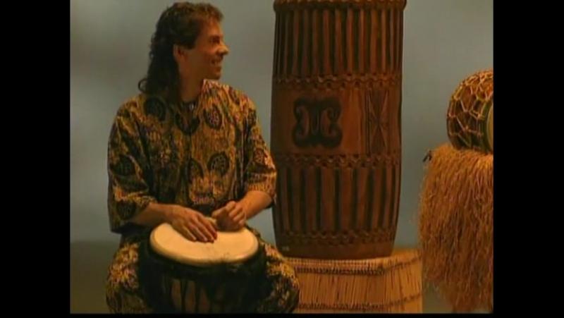 Hands On Drumming with Paulo Mattioli (1996). Африканские ритмы, джембе, дундун