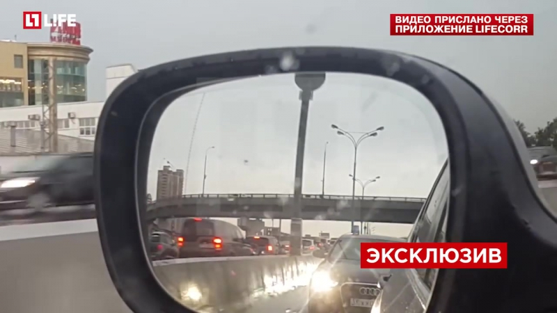 Москвич протроллил кортеж с номерами АМР и ЕКХ