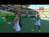 Исторический момент победы Весниной и Макаровой на Олимпиаде