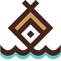 """Логотип База отдыха и рыбалки """"Баскак"""""""