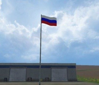 Мод Russian flag v 1.0 Placeable