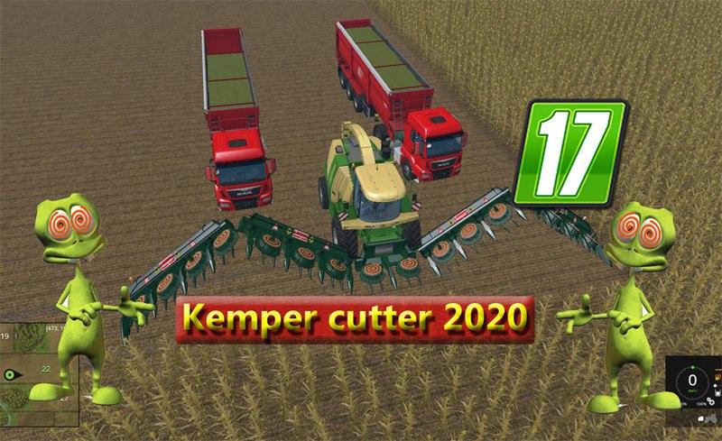Жатка Kemper cutter 2020 v 1.0