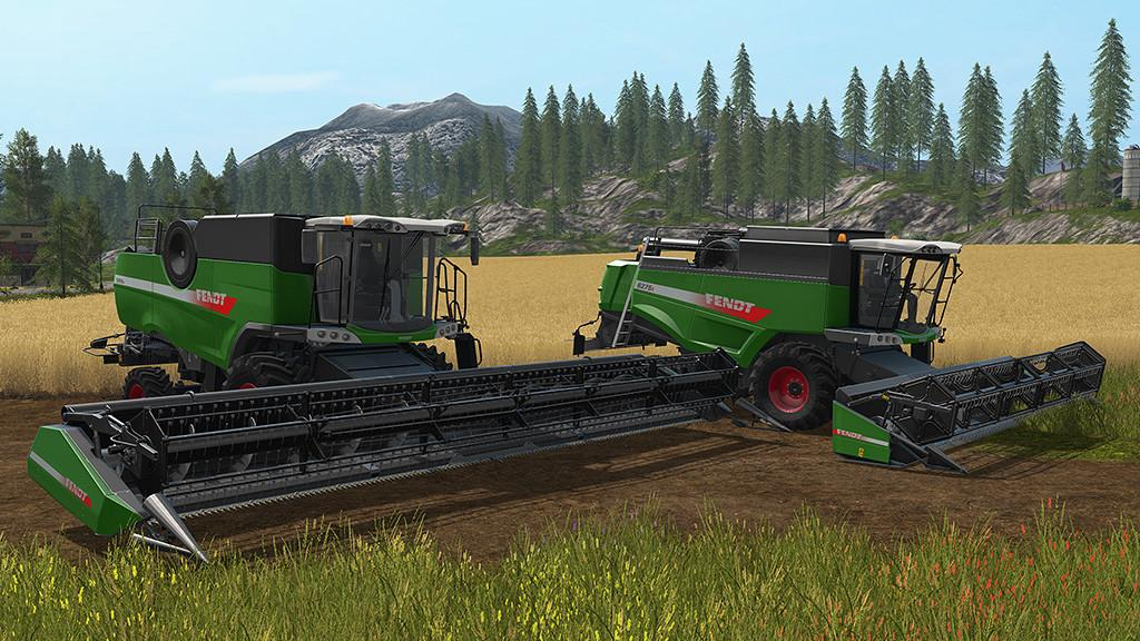 Комбаин FENDT HARVESTER PACK