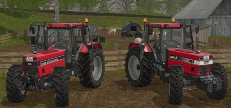 Мод трактор Case IH 1455 XL FH