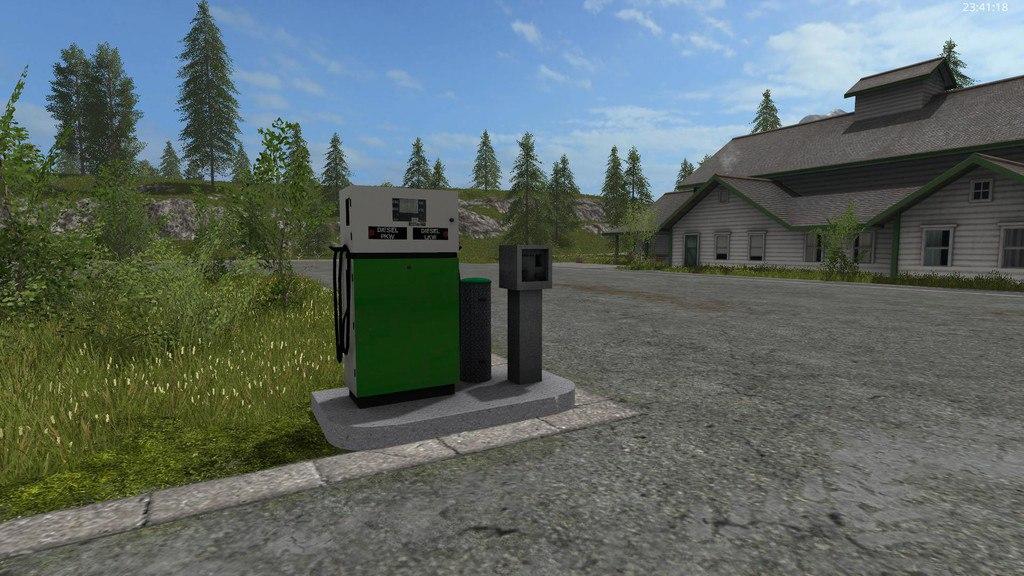 Мод Fuel station
