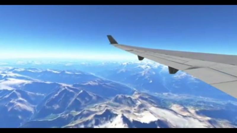Infinite Flight CLUB. Альпы. Новый MD-11. Wingflex.