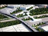 На ЗИЛе возводят автомобильный путепровод через пути МЦК