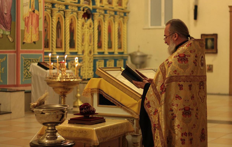 освящение башмачка святителя Спиридона Тримифунтского