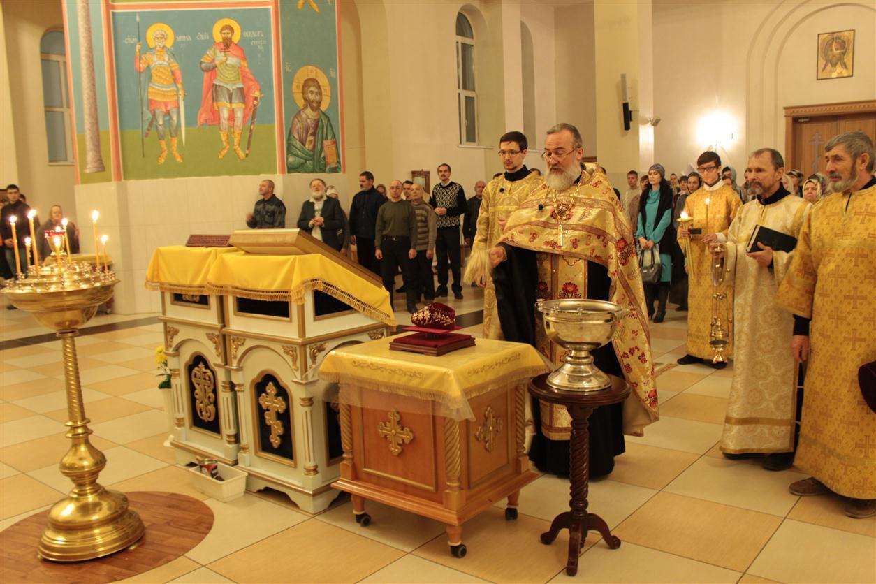 освящение башмачка святителя Спиридона