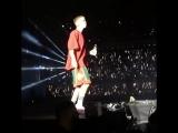 May 3: Fan taken video of Justin performing 'No Pressure' in Tel Aviv, Israel.