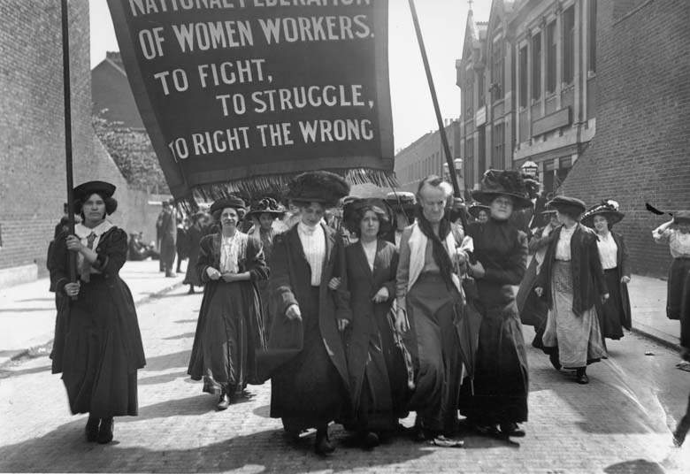 the inception and history of women rights movements
