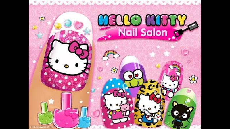Маникюрный салон Hello Kitty/Hello Kitty Nail Salon.Хеллоу Китти.Развивающий Творческий мультик