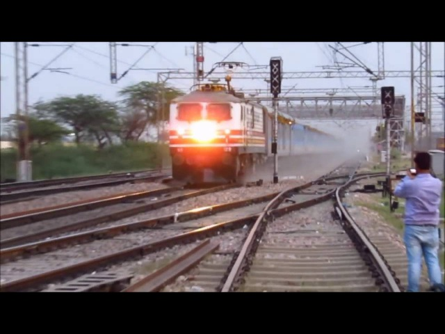 INAUGURAL RUN : Gatimaan Express Hits 160KMPH : FASTER Than BHOPAL SHATABDI