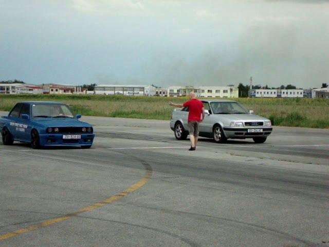 BMW 335i E30 vs. AUDI 80 4.2 V8 quattro