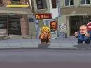 Zabuyaki beat 'em up game Satoff attacks Rick Love2D