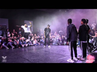 Young Battle 2015 - 1/2 Finale 3vs3 - Street Flow VS Mini Justiciers - Karism