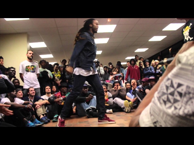Break Ya Neck 3ème Edition 8ieme de Finale Kanon Ghetto Style vs Jamsy Buckhaolicks