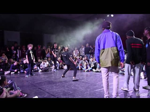 Young Battle 2015 - 1/4 Finale 3vs3 - Sarcellite Junior VS TN Crew Junior - Karism