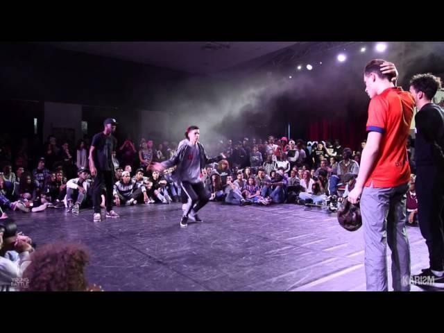 Young Battle 2015 - 1/4 Finale 3vs3 - Street Flow VS Show d'Art - Karism