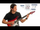 Cameron Allen Rock Fusion Guitar Lesson Part 1 of 3 How To Play Free Guitar Lesson