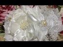 Tiara de bautizo blanco perla paso a paso VIDEO No 428