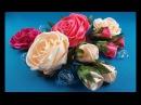 Rose of whole Rose de una cinta Роза из цельной ленты.MK