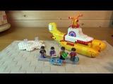 21306 Lego Ideas: The Beatles Yellow Submarine - ЖЕЛТАЯ ПОДВОДНАЯ ЛОДКА - ЛЕГО
