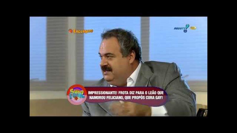 Sábado Total Alexandre Frota 'Feliciano foi meu namorado por 2 anos' 3