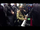 Stevie Wonder plays the Casio Grand Hybrid at NAMM