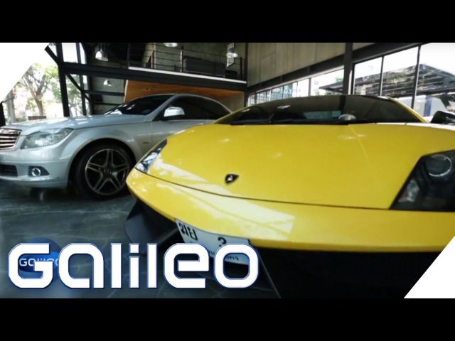 Fake-Autos: Die täuschend echte Lamborghini-Kopie | Galileo | ProSieben