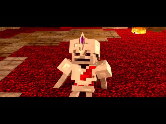 Minecraft Supernatural Mobs Skeleton King vs Herobrine! Minecraft Animation » Freewka.com - Смотреть онлайн в хорощем качестве