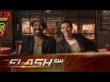 The Flash | Grab a Slice with Grant and Jesse | The CW