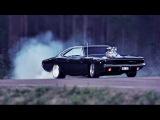 Dodge Charger 1968-1972 - Acceleration Burnout & Exhaust Sound