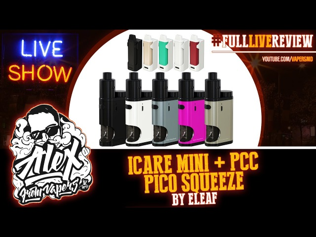 ICare Mini PCC Pico Squeeze Coral RDA | by Eleaf