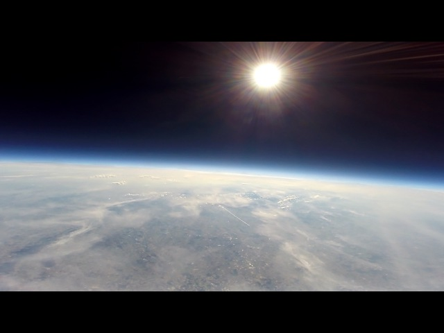 Weather Balloon Flight to Stratosphere [Uncut]